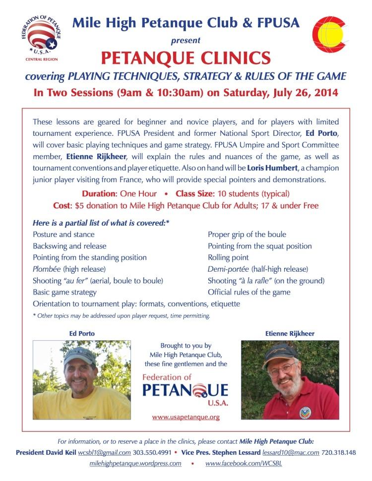 MHPC-FPUSA clinics flyer